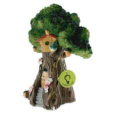 shop for the miniature led tree house by celebrate it at