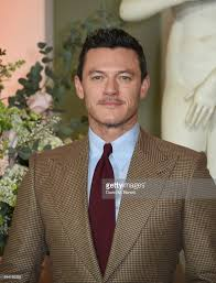 luke evans attends the uk launch event for beauty and the beast at picture id644193352