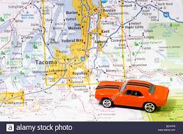 Lacey Washington Map by Automobile On Road Map Or Seattle Tacoma Washington Usa United