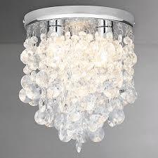 buy john lewis katelyn crystal bathroom flush ceiling light john