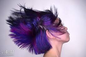 what are underneath layer in haircust black hair with blue magenta and burgundy under layers hd youtube