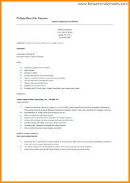 exle resume for application college admissions resume college application resume templates for