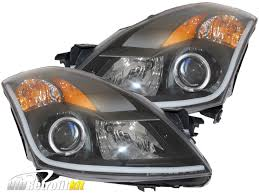 nissan altima 2016 headlights 2007 2009 nissan altima sedan retrofit bi xenon hid projector led