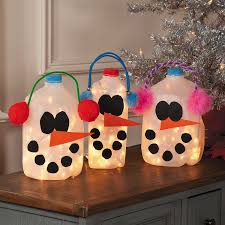 christmas crafts with milk jugs find craft ideas
