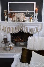 thanksgiving mantel fox hollow cottage