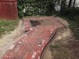 Red Brick Patio Pavers by Landscape Design U0026 Build Sunnyside Gardens Minneapolis