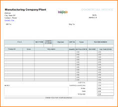 Receipt Template For Mac 4 Format Of Invoice Bill In Excel Simple Bill