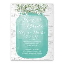 babys breath bridal shower invitation s bridal bargains