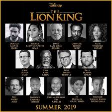 blog u201cthe lion king u201d remake star studded cast announced