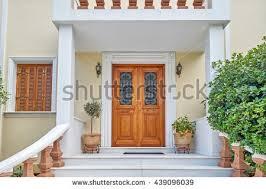 home entrance athens greece elegant house entrance stock photo royalty free