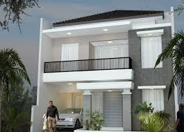 Minimalist Home Design by Minimalist Design House 2nd Floor Desain Rumah Minimalis 2
