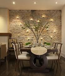 wohnideen esszimmer wohnideen natursteinwand leuchten essplatz dining room