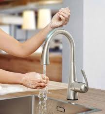 touch technology kitchen faucet grohe s touch faucets kitchen tasks hassle free torrco design