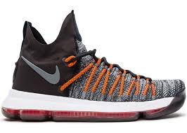 Nike Kd 9 9 elite grey hyper orange