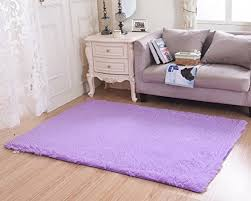 purple fluffy carpet modern rugs for room graypink sheepskin area