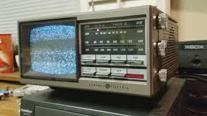 old uhf vhf television picks up police scanner radio youtube