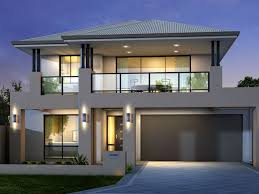 minimalist exterior design for 2 floor house 4 home ideas