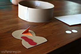 handprint turkey hat for a thanksgiving craft crafty morning