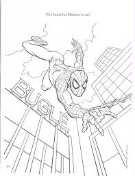 spiderfan org comics amazing spider man colouring book