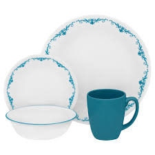 Corelle 76 Piece Dinnerware Set Corelle 16 Pc Dinnerware Set Garden Lace Shop Your Way