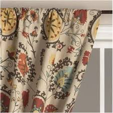 Suzani Curtain Suzani Curtain By World Market 30 Family Room