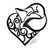 fox design by sapphire blackrose on deviantart