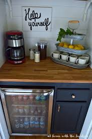 Building A Bar With Kitchen Cabinets Best 25 Beverage Stations Ideas On Pinterest Mason Jar Drinking