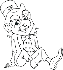 leprechaun coloring pages printable free leprechaun coloring pages printable free and st day color with this