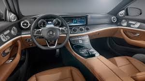 mercedes e class the 2017 mercedes e class interior is the standard w
