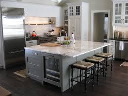 decorating ideas wonderful white wooden kitchen island and black