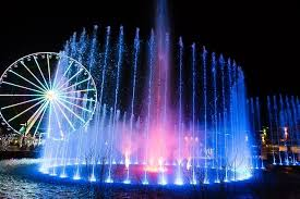 Light Show The Island Water Light Show In Pigeon Forge Smokymountains Com