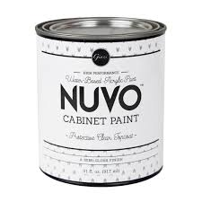 can you spray nuvo cabinet paint semi gloss topcoat for nuvo cabinet paint