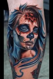 100 day of dead tattoo designs sleeve mexican mariachi