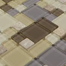 glass u0026 stone blend mosaic marble wall tiles