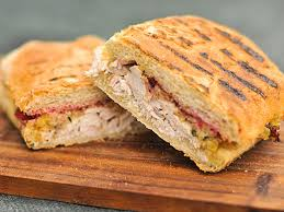 grill pressed thanksgiving leftover panini recipe serious eats