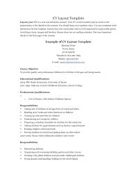 Free Sample Functional Resume Templates Example Resume Layout Resume Examples And Free Resume Builder