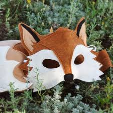 Handmade In Costume - handmade eco felt animal costumes felt animal masks