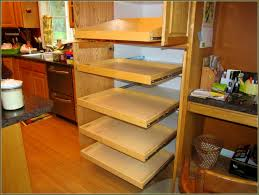 pull out shelves for kitchen cabinets home design