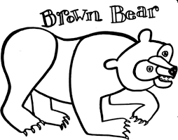 brown bear brown bear coloring pages paginone biz