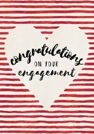 congrats engagement card choosey greetings cards engagement cards