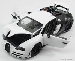 white bugatti veyron supersport autoart 70933 scale 1 18 bugatti veyron super sport 16 4 2012