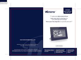 memorex digital photo frame mdf0738 blk user guide manualsonline com