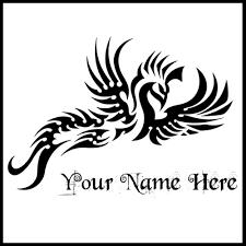 write name on black and white tribal tattoo for boys