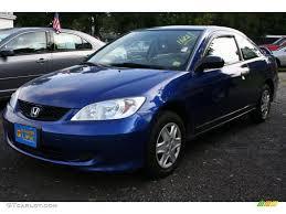 honda civic 2004 coupe 2004 fiji blue pearl honda civic value package coupe 37322888