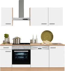 Billige K Henblock Küchenzeile Mit Geräten Kaufen Küchenblöcke Otto