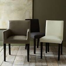 Leather Dining Room Chairs by Faux Leather Dining Chairs Simple Dining Room Chairs With Arms