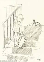 charming first ever sketches of winnie the pooh tipped to fetch at