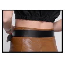 fantastic big silver pin buckle designer belts for women western
