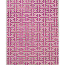 light pink wool rug geometrical gray pink wool rug