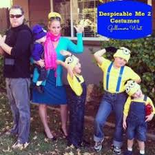 Despicable Family Halloween Costumes Despicable 2 Family Halloween Costume Adore